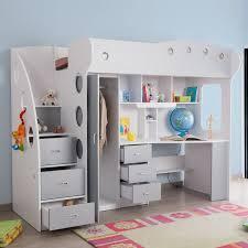 lit combiné bureau enfant bureau enfant rangement trendy lit combin commode et rangement