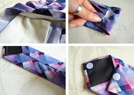 trends with benefits up cycled tie glasses case necktie recycle