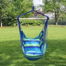 Patio Chair Swing Blue Patio Swingc2a0 Amazonm Sorbus Hanging Rope Hammock Chair