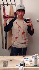 Glenn Walking Dead Meme - dressed as glenn from walking dead meme guy