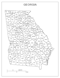 Atlanta Ga Map Georgia Labeled Map