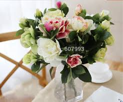flowers free shipping 10pcs artificial silk gardenia faux cape flowers party