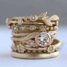 stackable engagement rings uncommonly beautiful stacking rings by sofia kaman jewels