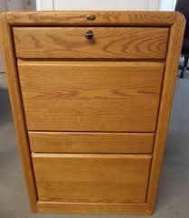 lot detail encore oak two drawer file cabinet u0026 printer desk