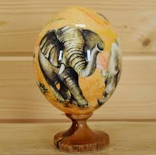 decorated ostrich eggs for sale big five ostrich egg sw5213 for sale safariworks taxidermy sales