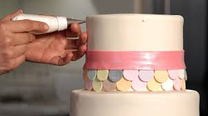 how to do a swiss dot pattern wedding cakes youtube