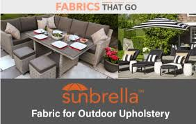 Outdoor Material For Patio Furniture Sunbrella For Outdoor Upholstery Fabrics That Go