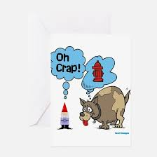 gnome greeting cards cafepress