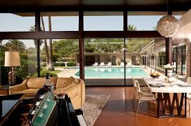 Design Destination The Sinatra House In Palm Springs California - California home designs