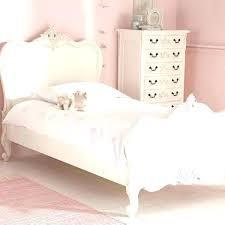 White Princess Bed Frame White Princess Bed Princess Bedroom Bed Dresser Mirror White