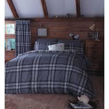 Tartan Flannelette Duvet Cover Beds U0026 Bedding Ready Made Curtains U0026 Blinds Fabrics U0026amp