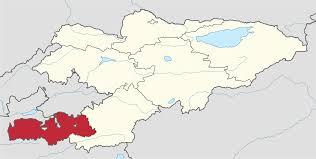 Kyrgyzstan Map File Batken Province In Kyrgyzstan Svg Wikimedia Commons