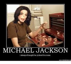 Memes De Michael Jackson - 2 michael jackson i always thought he picked his nose