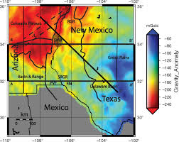 Utep Map Geophysical Constraints On The Crustal Structure Of The Southern