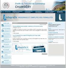 chambre de commerce de chambery le greffe du tribunal de commerce et des sociétés de la ville de