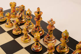 wooden chess sets purling marble chess sets
