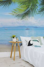 696 best wall paper love images on pinterest wallpaper fabric this beach wallpaper mural takes you right on the beach
