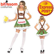 k224 ladies german beer maid bavarian oktoberfest fancy