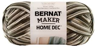 amazon com bernat maker home decor yarn 8 8 ounce aqua single ball