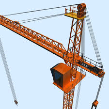 tower crane by polygon3d 3docean