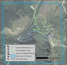 Sheridan Wyoming Map New Trails Open For Hiking Biking Along Red Grade Road Sheridan