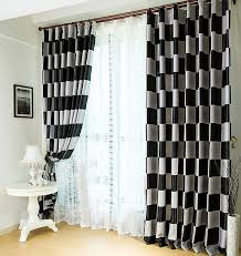 curtain design for home interiors beautiful black and white window curtain motif ideas plus licious