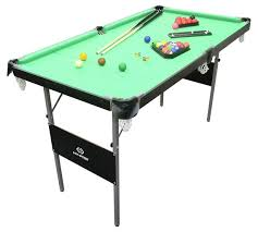 4ft pool table folding buy snooker and pool table 4ft 6in pool tables argos