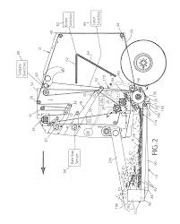 patent us8291687 continuous round baler google patents
