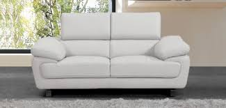 2 Seater Sofa Leather by White Leather Sofa Divani Casa Roslyn Modern White Leather Sofa
