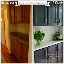 Kitchen Cabinets Painted Before And After Before U0026 After Kitchen Makeover Ideas Home Bunch U2013 Interior