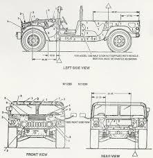 humvee drawing скачать чертежи автомобилей various