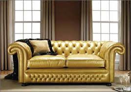 Gold Sectional Sofa Gold Leather Sectional Sofa Catosfera Net
