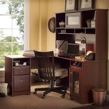 Bush Computer Desk With Hutch by Desk Bush Cabot L Shaped Desk For Stunning Bush Furniture Bush