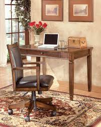 Hamlyn Dining Room Set by Hamlyn Medium Brown Home Office Desk And Chair U2013 Marlo Furniture