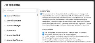 over 400 job description templates at your fingertips