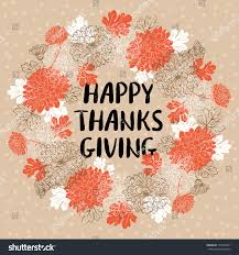 happy thanksgiving day greeting card autumn stock vector 719304931