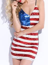 Flag Dress Com Buy Women Party Club Dress 2015 Stripe U0026 Star American