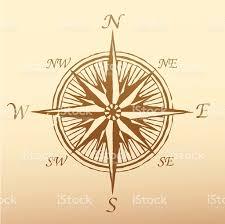 Compass Map Compass Rose Ancient Stock Vector Art 165534349 Istock