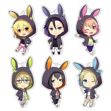 rabbit merchandise shop by anime tsukiuta tsukiuta six gravity chara forme