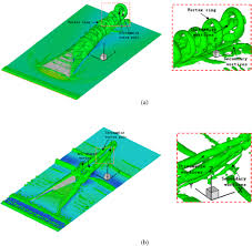 numerical investigations on the wake structures of micro ramp and