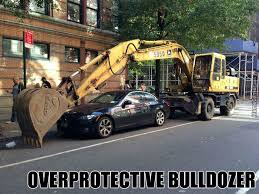 Bulldozer Meme - overly attached bulldozer by grim man meme center