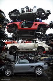 ferrari porsche logo this sports car scrapyard is home to ferrari testarossas not