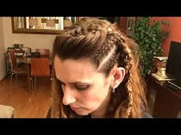 lagertha hairstyle peinado lagertha vikings lagertha hairstyle vikings youtube