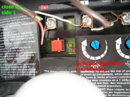 garage door sensor yellow light craftsman garage door opener motor not working clicking sound