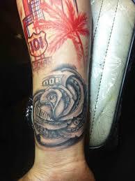 money money rose tattoo on forearm rose tattoos for men youtube