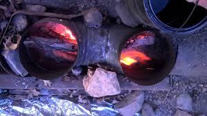 dakota fire hole trench rocket stove for tent tipi yurt part three