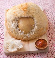 cuisiner poule poulet cuit en croûte de riz par jean françois piège les