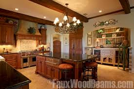 Timber Kitchen Designs Kitchen Design Ideas Sprucing Up Ceilings With Beams