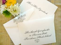 wedding invitations envelopes wedding invitation envelopes etiquette simply handwritten diy
