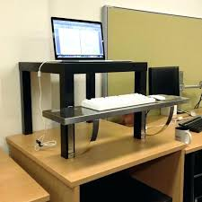 Standing Height Desk Ikea Stylish Standing Desks Ikea With Regard To Best Stand Up Desk Hack